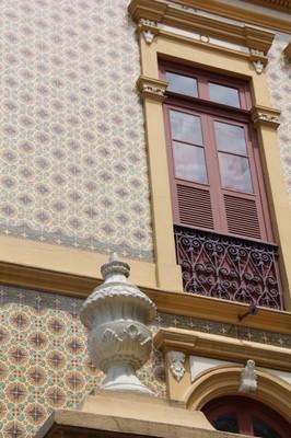 Palacete Pinho, joia da Belle Epóque em Belém, restaurado depois de ação judicial do MPF. Foto Helena Palmquist