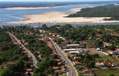 Cidade de Araguacema abriga praias naturais do Rio Araguaia. Foto Zezinha Carvalho