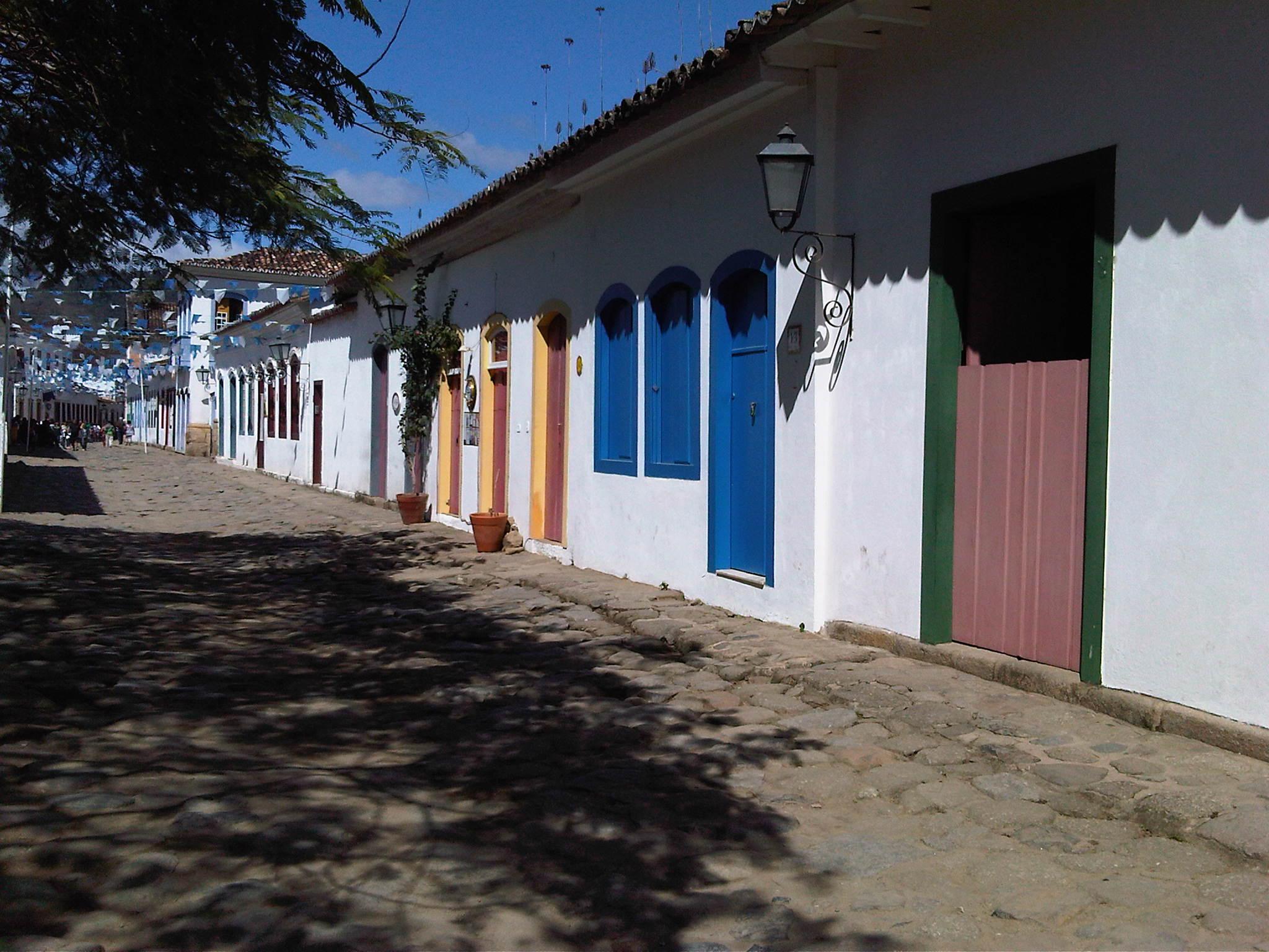 Centro histórico de Paraty. Foto: Marcelo Del Negri