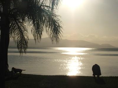 Beira-mar norte, em Florianópolis. Foto Andrea Mosqueta