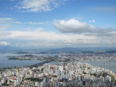 Morro da Cruz, em Florianópolis. Foto: Lucênio Zanoni