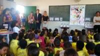 Crianças de Tocantins conhecem o gibi da Turminha