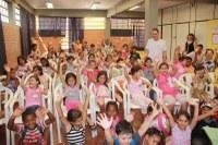 Turminha do MPF vai à escola em Porto Alegre