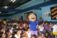 Turminha do MPF é apresentada a alunos de Cachoeiro do Itapemirim (ES)