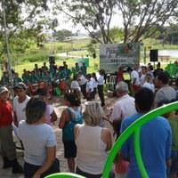 Gibi da Turminha fez parte de evento contra trabalho infantil